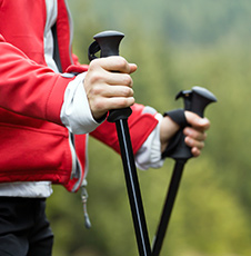 Il Nordic Walking Park.